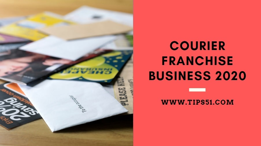 Courier Franchise Business 2020