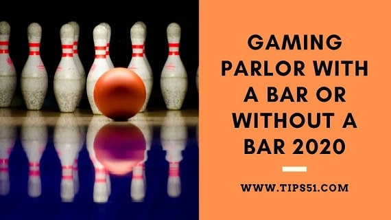 Gaming Parlor​​​​​ With A Bar Or Without A Bar