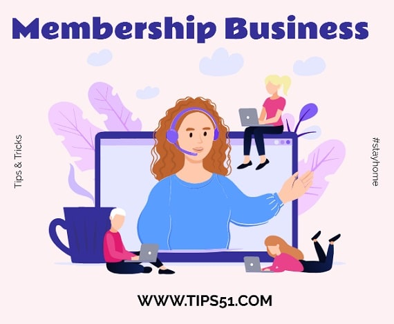 Membership Small Scale Business