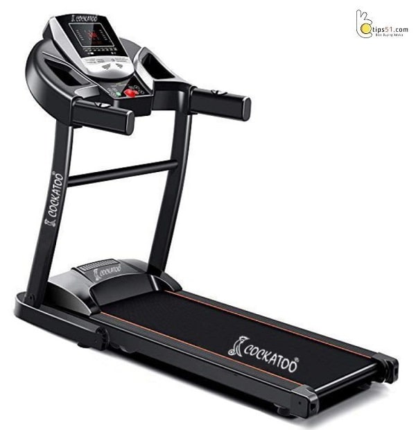 Cockatoo CTM-05 Steel 2 HP Peak Motorised Treadmill