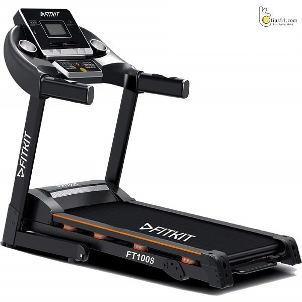 Fitkit FT100S 1.75HP (3.25HP Peak) Motorized Treadmill