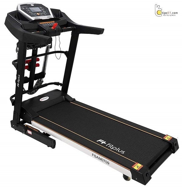 Fitplus FSAM0709 3HP (4.5HP Peak) Motorized Treadmill